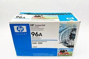 Genuine Sealed HP Laserjet C4096A 96A Black Toner Cartridge 2100,2200.