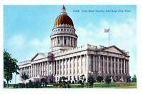 Utah State Capitol Salt Lake City Utah Unused Vintage Postcard 15884
