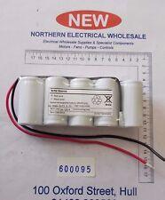 5 celdas D tipo 6 V Sellado Batería Recargable (F-600095)
