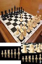 Quadruple Weight Tournament Chess Pieces Staunton Extra Heavy & Extra Large Set