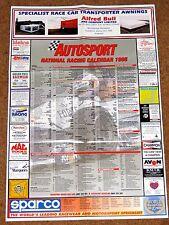 Autosport 1995 NATIONAL RACING CALENDAR - BTCC Club Meets F3000 FF1600 F1 F2 F3