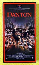 Danton ~ New VHS Movie ~ Gerard Depardieu Historical Drama ~ Sealed RCA Video