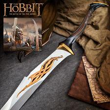 """48"""" The Hobbit Steel Mirkwood Infantry Sword Elven Lord of the Rings Lotr Movie"""