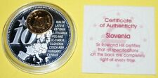 Slovenia 1 Coin(gilded)+Medal 40mm, 31g, Proof Like + Zertifikat