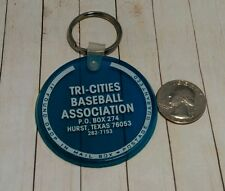 Vintage Tri-Cities Baseball association Hurst Texas Keychain Fob