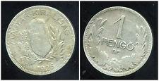 HONGRIE  1 pengo  1926  ARGENT SILVER