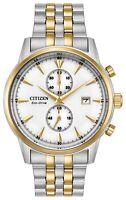 Citizen Eco-Drive Men's CA7004-54A Corso Chronograph Two-Tone 43mm Watch