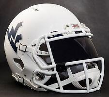 WEST VIRGINIA MOUNTAINEERS Gameday REPLICA Football Helmet w/ OAKLEY Eye Shield