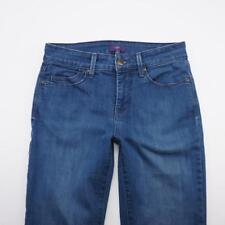 NYDJ Mini Boot Stretch Jeans Medium Wash Denim Womens 2