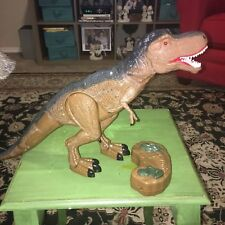 Remote Control Walking And Roaring T-Rex Toy