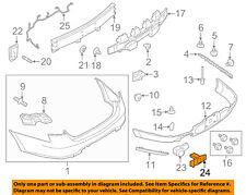 FORD OEM 13-17 Taurus-Bumper Cover Mounting Kit DG1Z15K861A