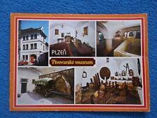 Ansichtskarte Plzeň Pilsen Brauereimuseum