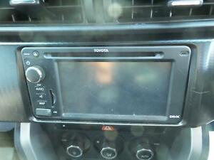 TOYOTA 86 STEREO RADIO HEAD UNIT CD MP3 SAT NAV ASSY ZN6 GTS 04/12
