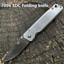 SANRENMU 7096 / 12C27 Steel / 420 Handle / Folding knife / Frame-Lock
