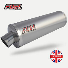Honda CBF600 2004-2007 Classic Brushed S/S Round Mini UK Road Legal Fuel Exhaust