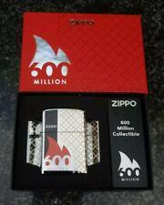 ZIPPO, 600 MILLION, LIMITED EDITION LIGHTER ((VERY RARE))