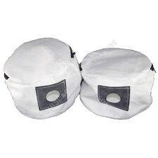 2 X Numatic As200, as200b y gve370 de Tela Reutilizables Aspiradora bolsas de polvo