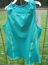 Girls' L.L. Bean Fitness Tank Summer Top - Size 12 - Malachite Green  - NWT