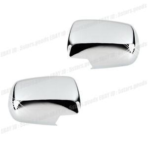 Accessories Chrome Side Mirror Covers Molding Trims For 2004-2006 Acura MDX SUV