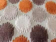 Duralee- Persimmon Grey Circle Cut Velvet Upholstery Fabric- 2.50 yds (36267-33)