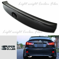 CARBON FIBER for LEXUS IS250 IS350 SEDAN 4D TRUNK  BOOT SPOILER REAR WING 06-12