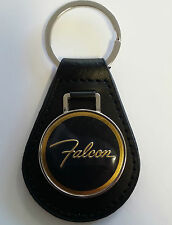 Ford Falcon Keyring Leather Fob XR XT XW XY GS GT Sedan Ute Wagon 302 351 250 2V