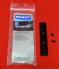 Weaver No. 8 Side Mount Base For Remington 1100/11-48, 48 & 58, Win. 50