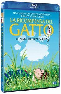 LA RICOMPENSA DEL GATTO di Hiroyuki Morita - Studio Ghibli - Blu-Ray - Lucky Red