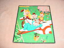"""Vintage 1950`s """" Howdy Doody """" Frame Tray Picture Puzzles, 11"""" 15"""" # 2628:29"""