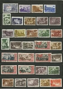 Nice lot -mostly used Russia  1940's  inc BOB-nice cancels-