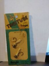 Vintage Fishing Lure Knight Tiny Tube 2 Pack Sealed in Original Packaging
