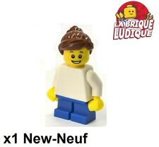 Lego - Figurine Minifig birthday girl enfant fille 850791 GEN053 NEUF