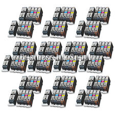 100 PACK PGI-220 CLI-221 Ink Tank for Canon Printer Pixma iP3600 iP4600 NEW