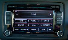 VW Radio RCD 510 Bosch 5K0035190B mit CD Wechsler RDS in Deutsch