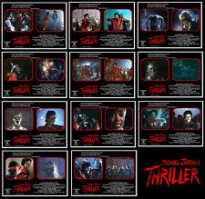 """11 Photos Clip # A Michael Jackson """"THRILLER"""" 1983 / John Landis"""