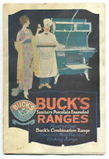 AUTHENTIC OLD BUCK'S RANGES BOOLKET, DIFF STOVES, NOT A REPRO, * ON SALE * CI438