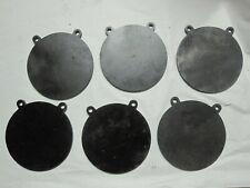 """6 pcs Ar500 3/8"""" Steel Shooting Targets 6"""" Gongs"""