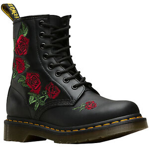Dr.Martens Womens Boots 1460 Vonda Casual Ankle Lace-Ups Leather
