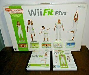 2009 Nintendo Wii Fit Balance Board Bundle + Wii Fit PlusDisc - NEW Open Box!