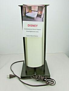 RARE Disney's Contemporary Resort Guest Room Lamp Prop WORKING LIGHT