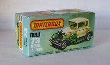 REPRO BOX MATCHBOX SUPERFAST n. 73 MODEL A FORD