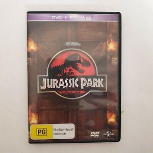 Jurassic Park DVD Region 4 AUS - Free Postage Action Dinosaurs