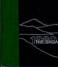 Stavanger American School Norway 1980 Saga Yearbook Annual