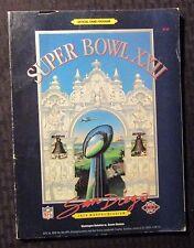 1988 SUPERBOWL XXII Official Game Program FN- 5.5 Redskins vs Broncos NFL