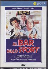 """DVD """"Al bar dello sport"""" di Francesco Massaro - NUOVO"""
