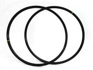 2 QTY Mavic XC 425 32 Hole 32H 29er MTB Bike Rims Aluminum Black Disc NEW