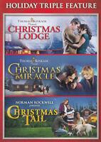 CHRISTMAS LODGE / CHRISTMAS MIRACLE / CHRISTMAS TAIL (HOLIDAY TRIPLE FEATU (DVD)