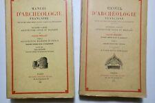 Manuel d'archéologie française Architecture civile & militaire et navale