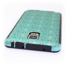 CoverON® for Samsung Galaxy Note 4 Case - Slim Hybrid Cover - Teal Panda Dots