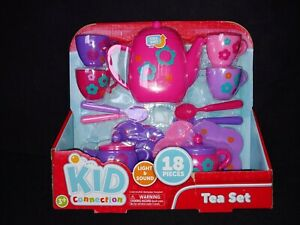 New Kid Connection Multicolor Tea Party Set 18 Pieces New Sealed